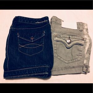 Girls Lot - Abercrombie Skirt & Yaso Shorts